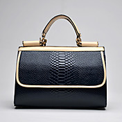 MIQIANLIN Women's Elegant Crossbody Tote Bag(Dark Blue)
