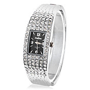Women's Quartz Movement With Rhinestone Analog Bracelet Watch(More Colors)