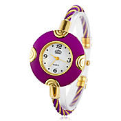 Women's Quartz Movement Analog Bracelet Watch(More Colors)