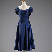 DRESSTELLS Women's Royal Blue Bridesmaid Below Knee Dress