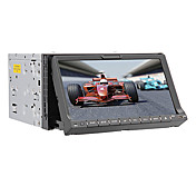 7-inch 2 Din TFT Screen In-Dash Car DVD Player With Bluetooth,Navigation-Ready GPS,TV,iPod-Input,RDS