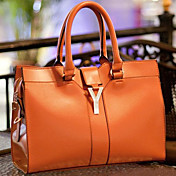 POLIS Women's Orange Korean Casual Fashion Clutch Bags