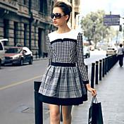 WEIMEIJIA Fashion Long Sleeve Dress