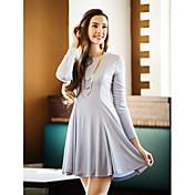 TS Classic Long Sleeve Swing Dress