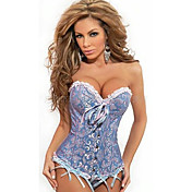 Darling Clothes Women's  Floral Print Sexy Corset