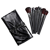 COLORDATE Professional Makeup Brush with Free Leather Pouch 18 Pcs TS18003