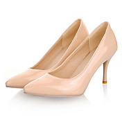 Patent Leather Stiletto Heel Pumps Heels Shoes(More Colors)