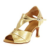 Women's Sparkling Glitter Latin/Ballroom Dance Performance Shoes (More Colors)