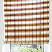 Classic Geometric Bamboo Roller Shade