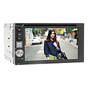6.2 Inch 2DIN In-Dash Car DVD Player with FM,DVD,SD,USB