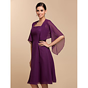 Half Sleeve Chiffon Evening/Casual Wraps/Jacket (More Colors)