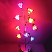 Festival Brilliantly Home Landscape LED Lamp Colorful Rose