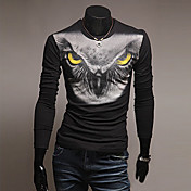 VSKA Men's Owl Print Shirt