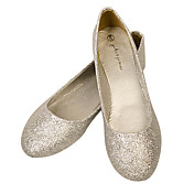 Sparkling Glitter/Faux Leather Flat Heel Ballerina Flats Shoes(More Colors)