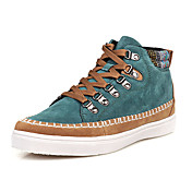 Faux Leather Men's Casual Fashion Sneakers with Rivet