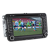 7-inch 2 Din TFT Screen In-Dash Car DVD Player For Volkswagen With Canbus,Bluetooth,Navigation-Ready GPS,iPod-Input,RDS,TV