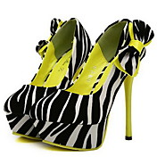 Faux Leather Women's Stiletto Heel Pumps Heels Shoes(More Colors)