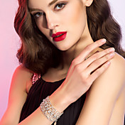 Elegant Alloy With Rhinestone Women's Bracelet
