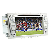 7-inch 2 Din TFT Screen In-Dash Car DVD Player For Ford With Bluetooth,Navigation-Read GPS,iPod-Input,RDS,TV