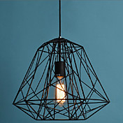 Hive Pendant,1 Light, Creative Black Iron Painting