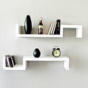 Modern Creative White Carbon Fiber Hanging Storage (1 Piece)