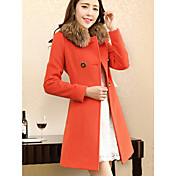 Hanyunyibo Fashion Slimming Woolen Overcoat