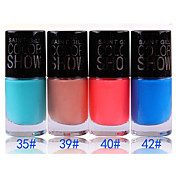 Organic And Environmental Protection Of Nail Polish No.35-42 (1PCS 12ml, Assorted Colors)
