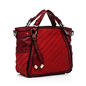 Feimei Fashion European and American Style  Single-shoulder Bag(Red)