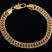 Minmin Women's 24K Gold 220mm Long Necklace SL0100