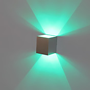 LED Wall Light,  Modern Concise Aluminum Oxidation(Assorted Colors)