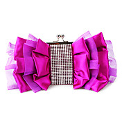 Satin Wedding/Special Occation Clutches/Special Handbags(More Colors)