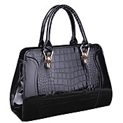 Lisa Women's Black Up Leather Satchels Tote 33*12*23