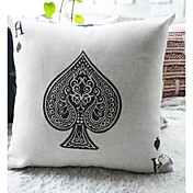 Mordern Ace of Spadesd ecorative Pillow Cover