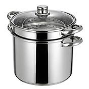 8 QT Stainless-steel Multi-pots,Dia 24cm x H20cm