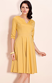 TS Mid Sleeve Swing Jersey Dress (More Colors)