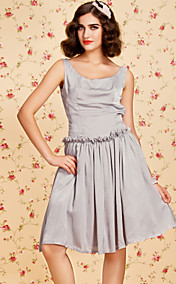 TS VINTAGE Low-waist Swing Dress