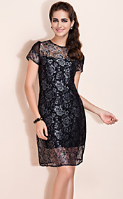 TS VINTAGE Embroidery Lace Dress