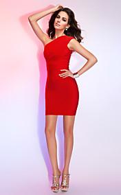 Sheath/Column V-neck Sleeveless Short/Mini Bandage Dress