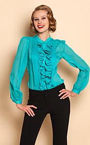TS Ruffle Front Blouse Shirt