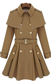Lady Swing Lapel Coat