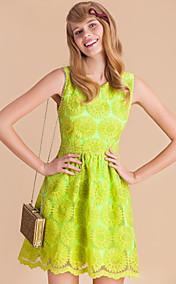 TS Handmade Embroidery Sleeveless Dress