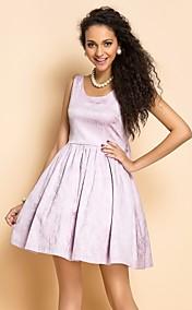 TS VINTAGE Jacquard Backless Dress