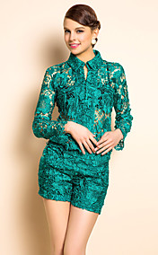 TS Shirt Style Embroidery Suit