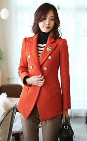 Women's Elegant Double Breast Slim Cut Coat