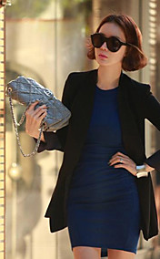 Women's Padded Shoulder Blazer
