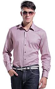 Men's Causal Business Cotton Long Sleeve Shirt