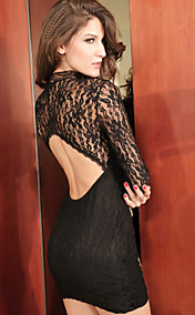 Lace Backless Dress(Bust:86-102CM,Waist:58-79,Hip:90-104,Length:70)