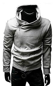Men's Oblique Zipper Jacket