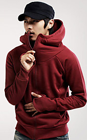 Men's Fleece Hoodie Cardigan Jacket