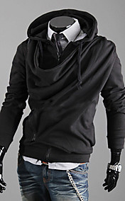 Men's Solid Color Hoodie Sweater
